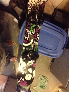 Rossi board and orion boots