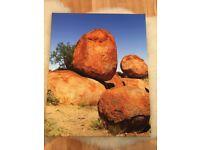 Australia canvas photo picture