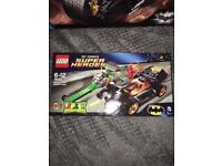 Brand new in box never opened Batman the riddler chase Lego