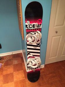 Kit Snowboard Femme (147 cm)