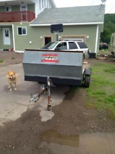5 X 10 tilt deck trailer.