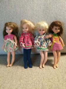 1967 Tutti/Chris Barbie Dolls ($10 Each)