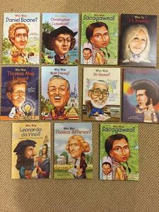 A wonderful collection of biographies for children