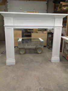 Solid oak or MDF fire place mantels