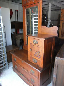 t little & sons galt gentlemans dresser or hallway stand