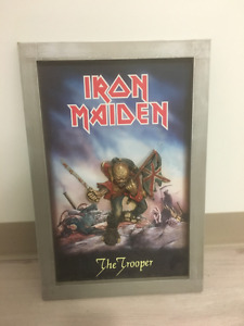 Iron Maiden The Trooper - 3D  Ceramic Wall Art Poster