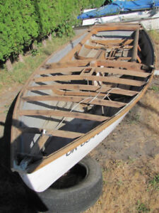 16 Ft Snipe sailboat project