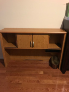 Cabinet Bookcase/stand Wood Hutch Display