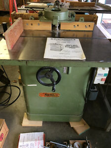 Heavy-Duty Shaper with bits/cutters