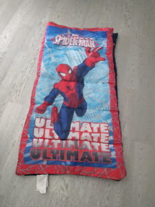 Kids Marvel spider man sleeping bag