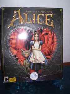 American McGee's Alice PC Game.