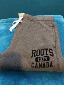 Roots track pants
