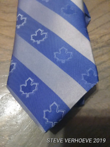 Limited edition Toronto Maple Leafs Tie /250