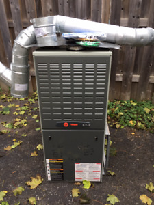 Natural gas TraneXL 80 furnace for sale