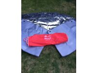 Motor home thermal windscreen cover