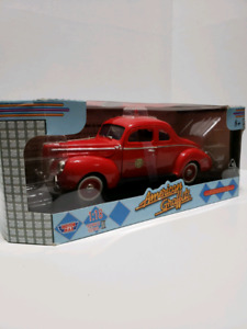 "1940 FORD SEDAN COUP FIRE CHIEF'S CAR"" 1:18 scale... by AMERICAN"