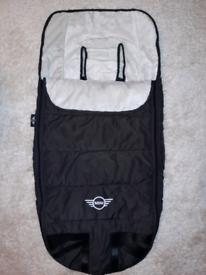 MINI Footmuff/Warmer for Buggy/Stroller