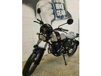 Lexmoto Tempest GT 125cc Retro Cafe Racer Style CBT Legal Motorbike Silver