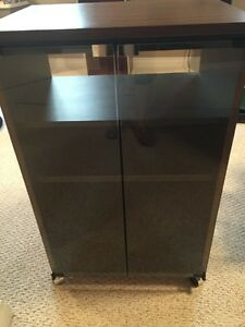 Four drawer two-door stereo stand. Strathcona County Edmonton Area image 2