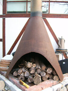 Cone moderne Cheminée /  Cone Fireplace