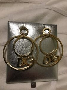 Dolce and Gabbana earrings - brand new