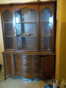 Antique Solid Wood Cabinet MOVING SALE
