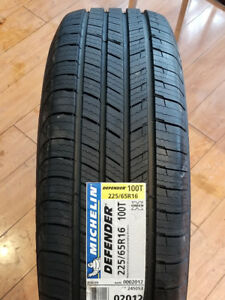 225/65R16 100T MICHELIN DEFENDER ALL-SEASON TIRES