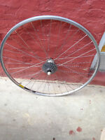 Mavic/Shimano 105 7-speed rear wheel