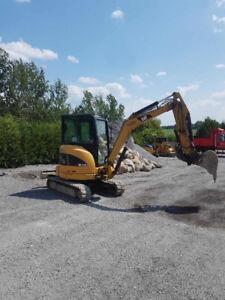 2010 cat 303.5 excavator