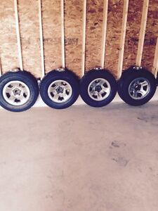 """RAM 17"""" rims and tires for sale"""