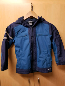 Mountain Equipment Co-op Boys size small lined jacket