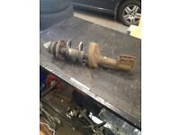 Renault Clio 03 n/s/f strut + Spring