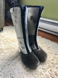 Authentic Bilodeau Seal Skin Boots