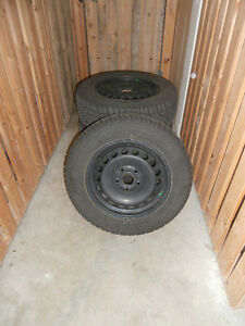 Gislaved Nord Frost Winter Tires on Rims