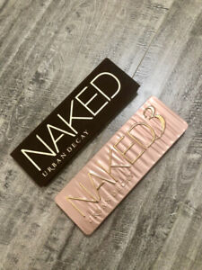 Urban Decay Eyeshadow palette Naked and Naked 3