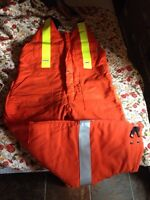 High visibility warm overalls