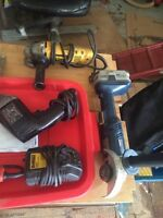 Power tools assorted