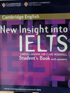 New Insight Into IELTS by Vanessa Jakeman (author), Clare McDowe