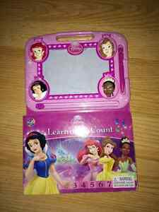Disney Princess Counting Book w/sketch pad