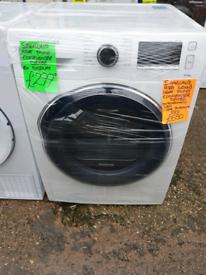 White samsung 9kg load condenser dryer