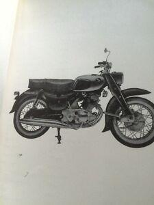 1964 Honda Dream 250 300 Parts List Regina Regina Area image 2