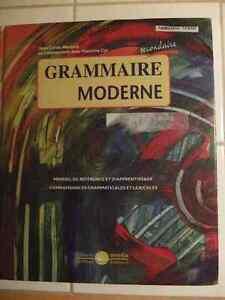 Grammaire moderne secondaire