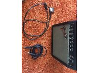 Fender 15g amp and cable
