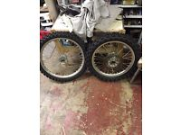 Crf 450 wheels for sale!!