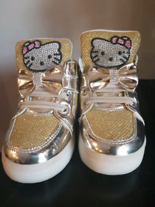 Hello kitty toddler shoes