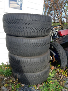 Michelin Alpin 225 50 R17  winter tires