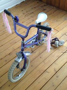 Vélo pour fille 14''
