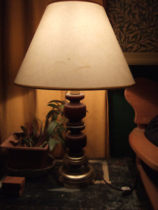 Large table lamp- $12