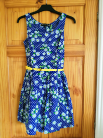 Size 8 flower dress