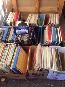 Various vinyl albums / records